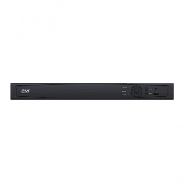 2M Technology 32 Channel Network Video Recorder with POE Essential Series