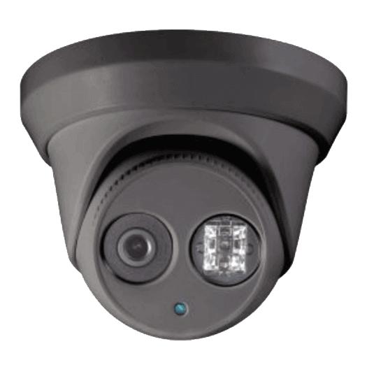 Hikvision OEM 2mpTurret / Eyeball Outdoor Weather Proof Black Fixed TVI