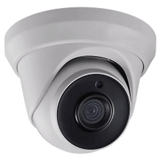 Hikvision OEM 2mp Turret / Eyeball Outdoor Weather Proof White Motorized