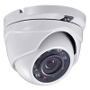 Hikvision OEM 2mp Miniture Dome Outdoor Weather Proof White Fixed TVI