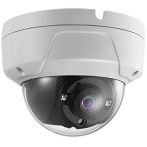 Hikvision OEM 2mp Miniture Dome Outdoor Weather Proof/ Vandal Resistant White FixedTVI