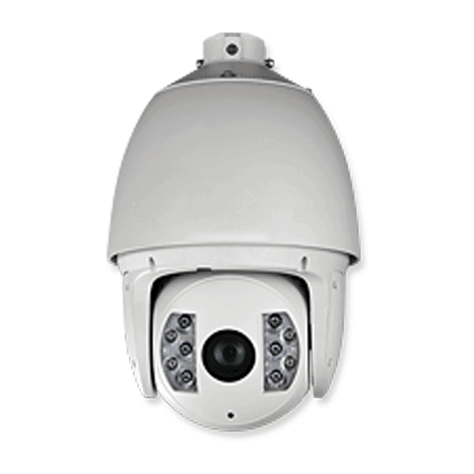 Hikvision OEM IP 2 mp Pan Tilt Zoom White Outdoor Weather Proof/Vandal Resistant Optical Zoom