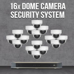 16 Vandal Proof Camera System