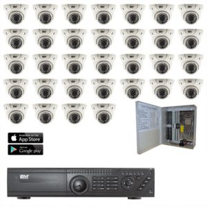 2MKT-2M32ZD TVI Security Camera System 32 Motorized domes