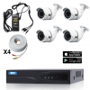 TVI Security Camera System 4 Fixed Bullet