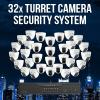 32 Camera Enterprise Surveillance System