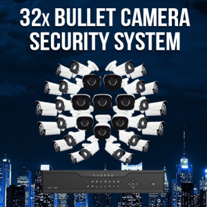 32 Camera Enterprise Surveillance System