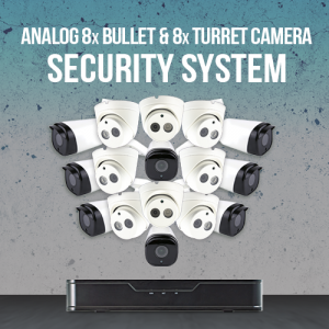 Analog 16 Camera Surveillance System