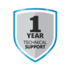 1 Yr Free Tech Support
