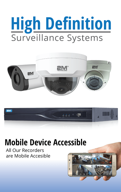 HD Security Cameras System | Complete Camera Systems | 2MCCTV