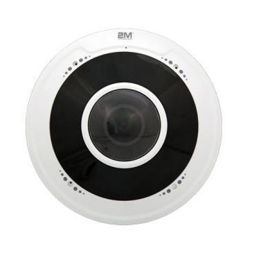 Fisheye Fixed Lens IP Camera