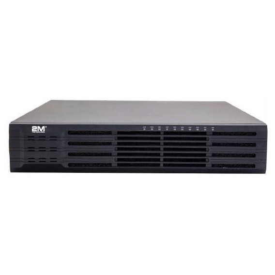 2M Technology 4K 64 Channel Network Video Recorder