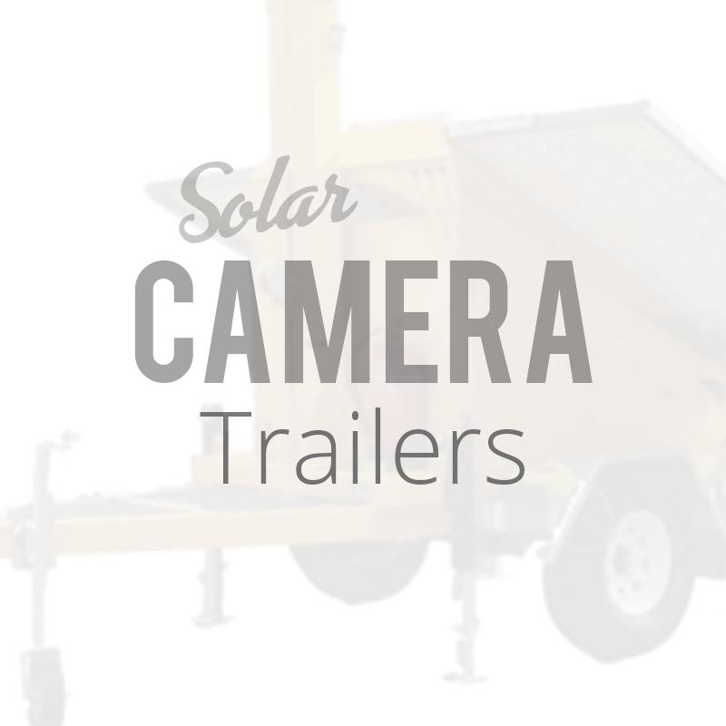 Solar Security Camera Trailer